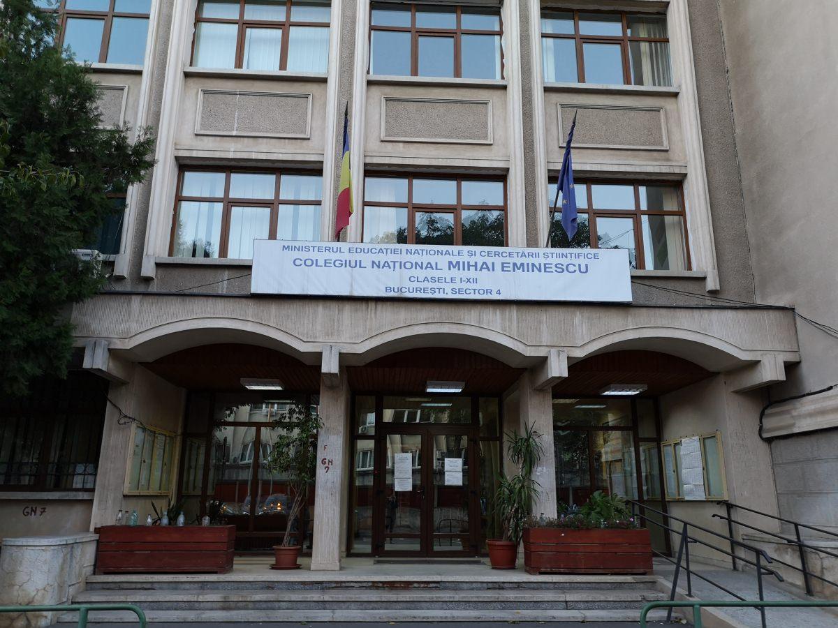 Colegiul National Mihai Eminescu Bucuresti - Daui.ro