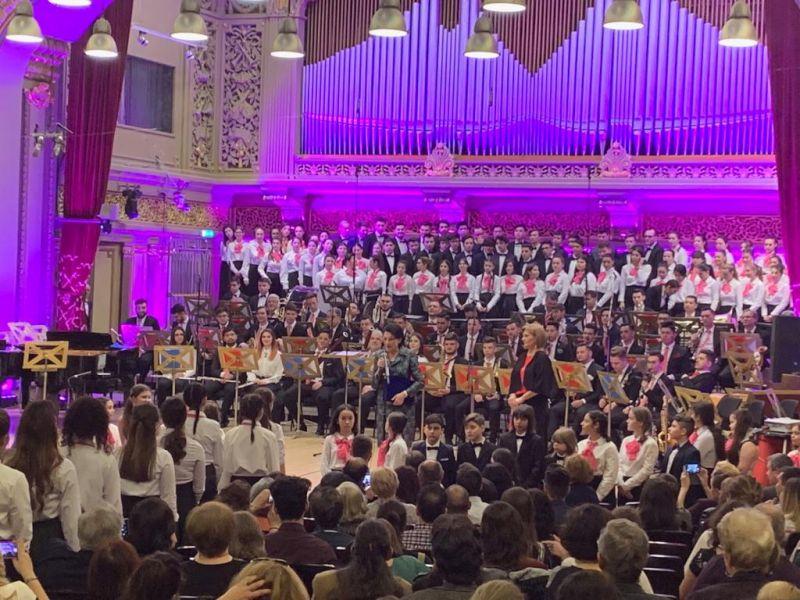 """Concert extraordinar pe scena Ateneului Român, cu ocazia împlinirii a 70 de ani de la înființarea Colegiul Național de Arte """"Dinu Lipatti"""""""